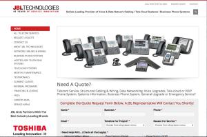 WebVisable-orange-county-seo-company-website-design-calljbl.com-jbl-technologies-business-communications