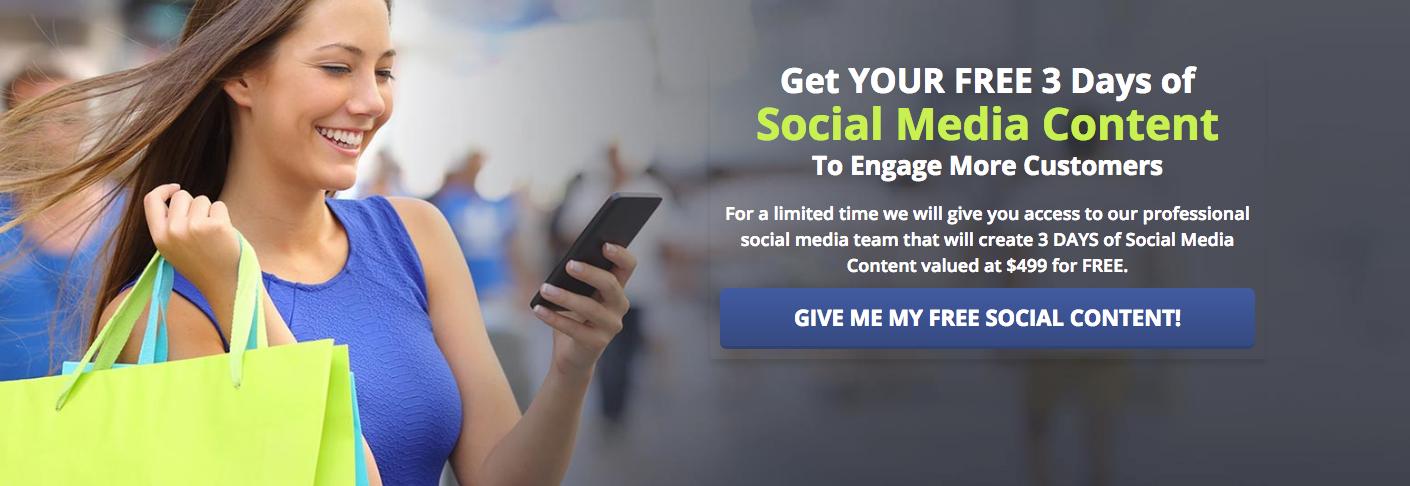 free social media content